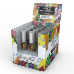 Caja de aceites roll on 12 unidades